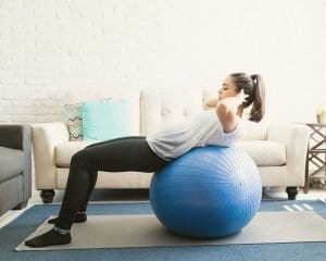 4 Ways to Use an Exercise Ball by 4steps4