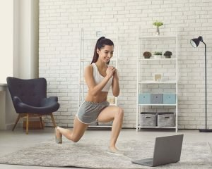 easy home workouts by 4steps4